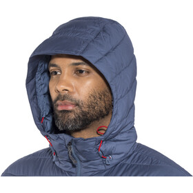 Columbia Powder Lite Hooded Jacket Herren red spark/dark mountain